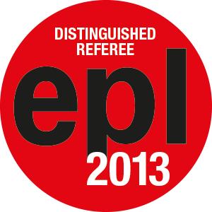 EPL Distinguished Referees 2013