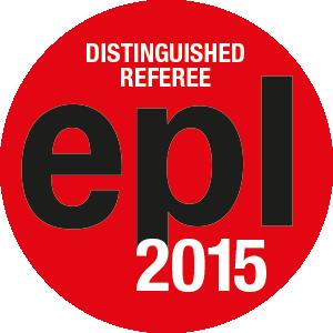 EPL Distinguished Referees 2015