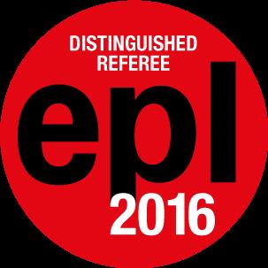 EPL Distinguished Referees 2016