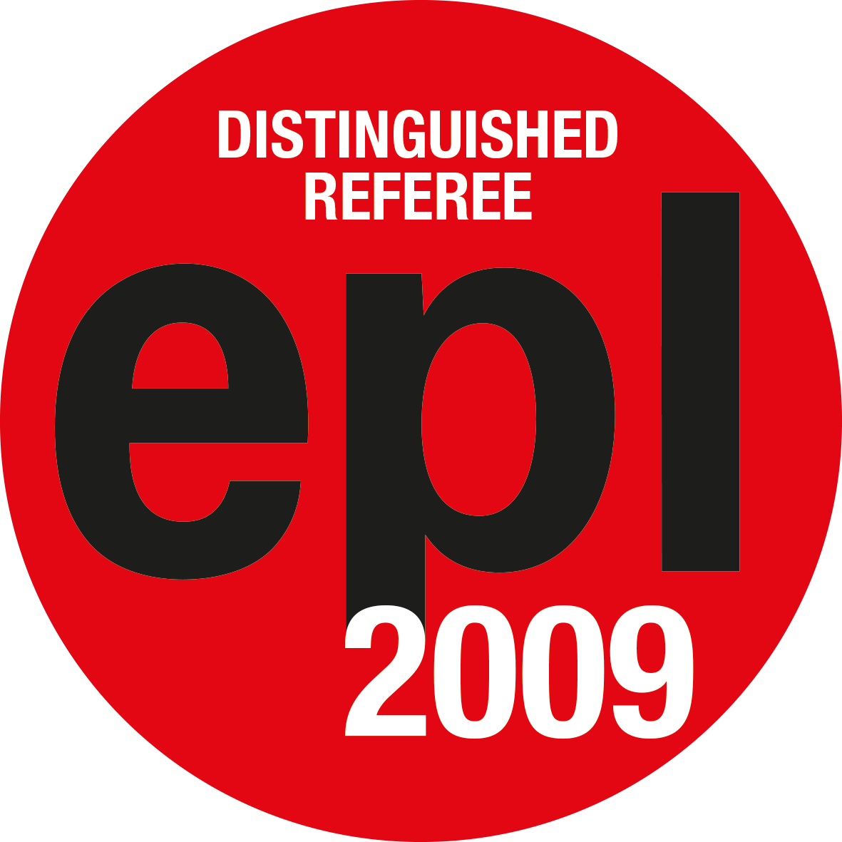 EPL Distinguished Referees 2009