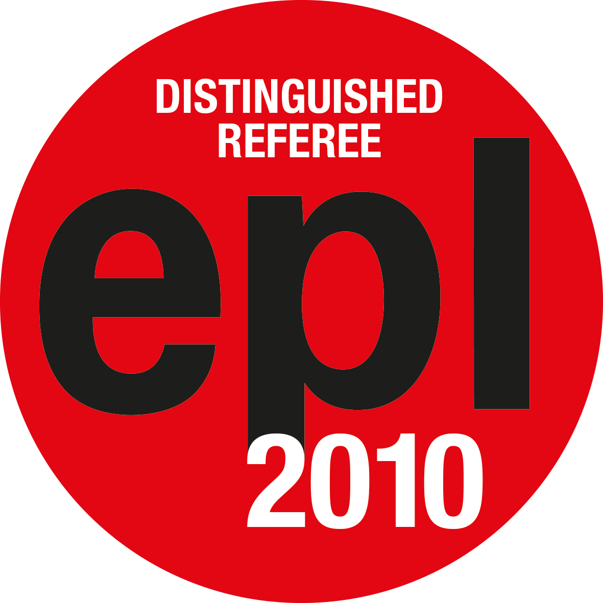 EPL Distinguished Referees 2010