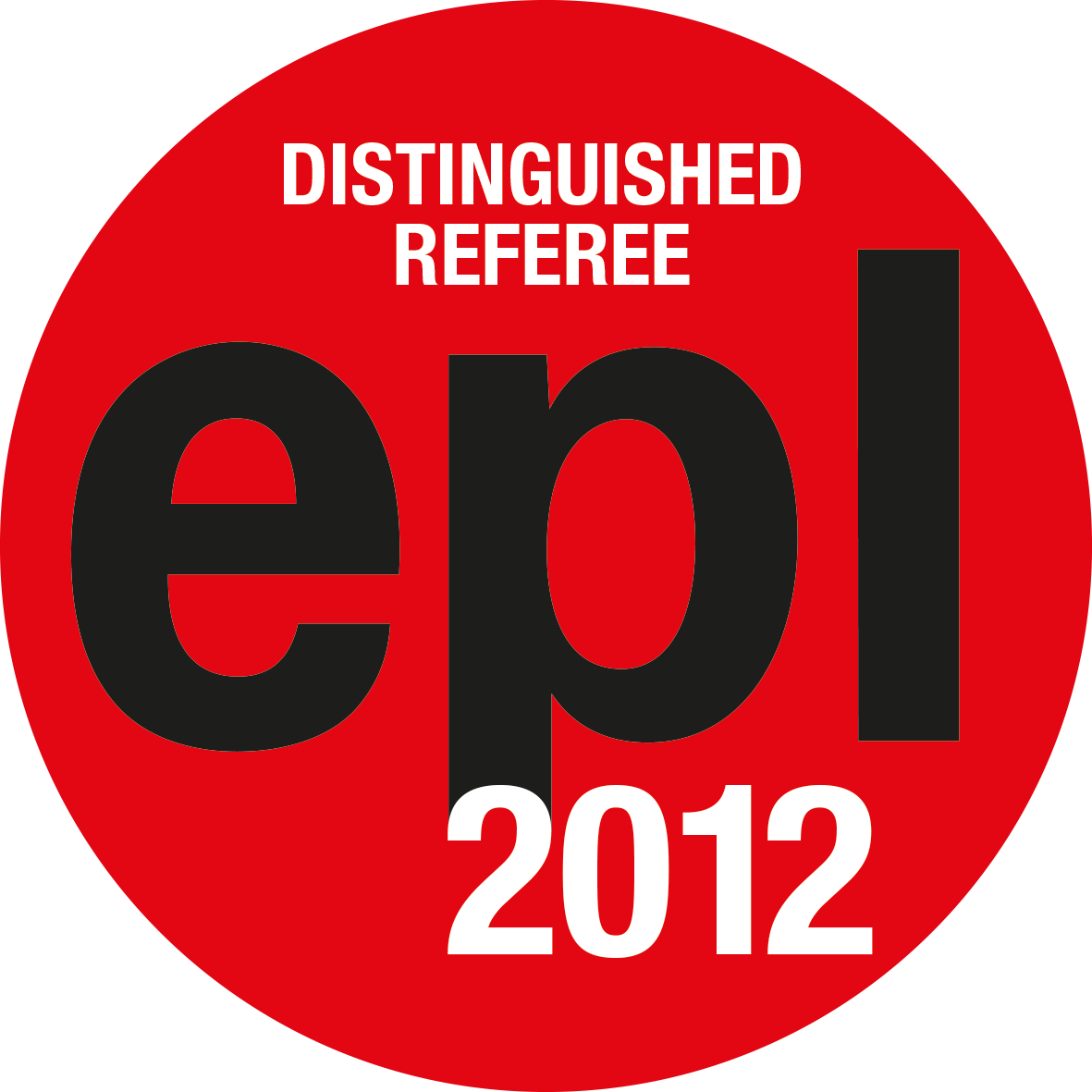 EPL Distinguished Referees 2012